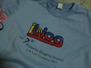 my iblog7 shirt